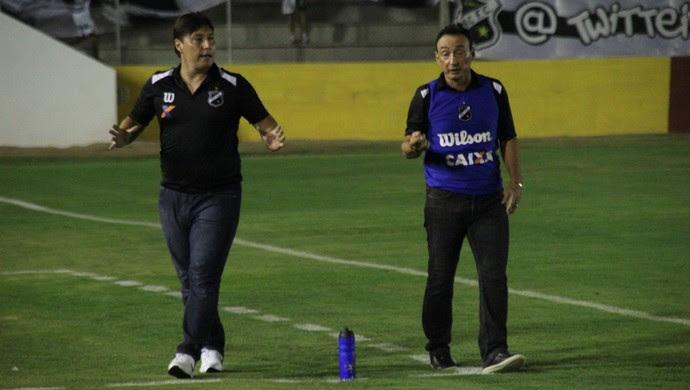 Roberto Fonseca - técnico do ABC (Foto: Fabiano de Oliveira)