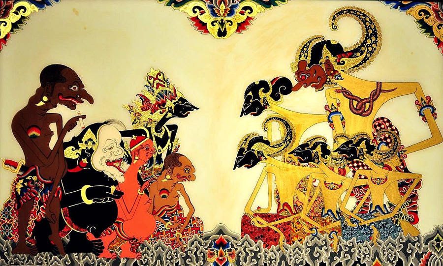 Pandava Krishna N Punakawan By Bookgeeky On Deviantart
