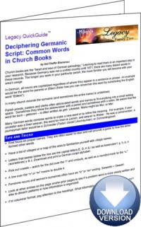 Deciphering Germainc Script