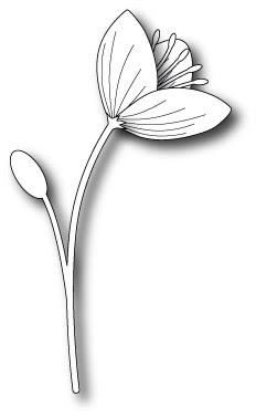 1390 Marcelle Flower craft die