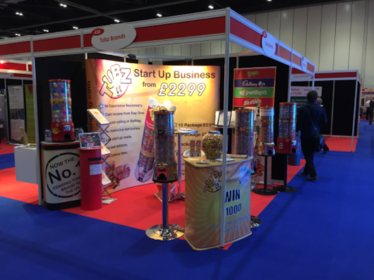2015 at Excel Docklands London - Tubz Vending Franchise