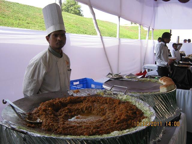 Pav Bhaji Stall at the food court of  Kolte-Patil Life Republic, Marunji - Hinjewadi, Pune 411 057