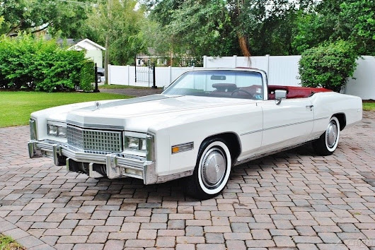 pristine 1975 Cadillac Eldorado Convertible for sale