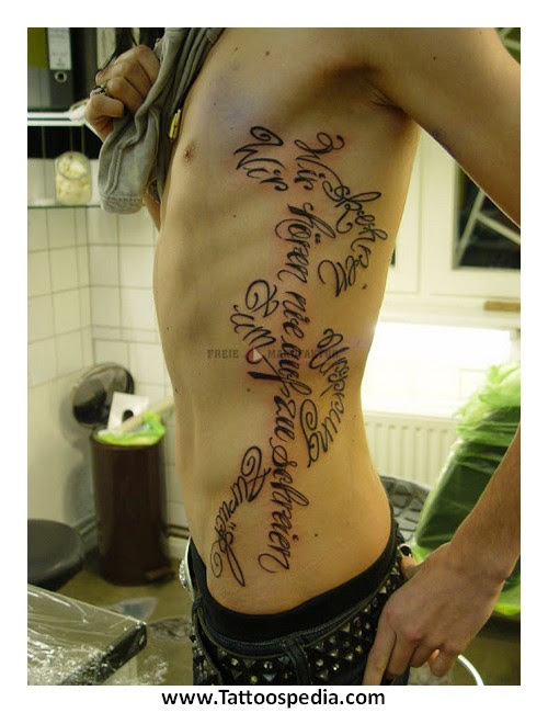 Tattoo Ideas For Men Rib Cage 3