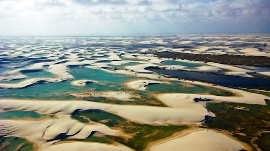 The Multicolored Lagoons of Lençóis Maranhenses Park, Brazil | Tourism on the Edge