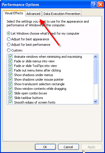 Increase Virtual Memory Picture 1