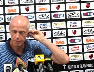 Wallim Vasconcellos vice diretor de futebol do Flamengo (Foto: Janir Júnior / Globoesporte.com)
