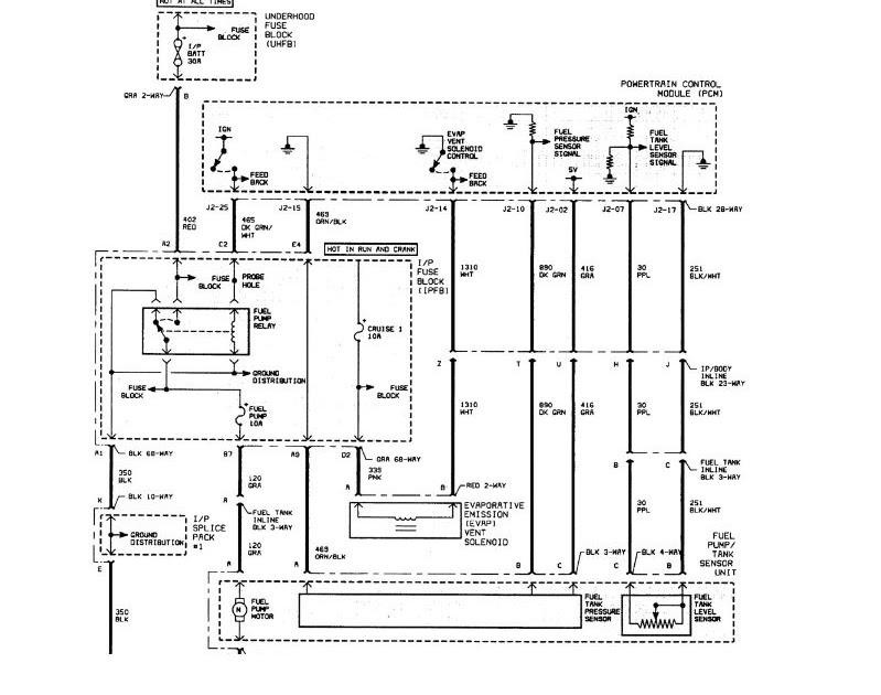Saturn L200 Fuel Pump Wiring Diagram