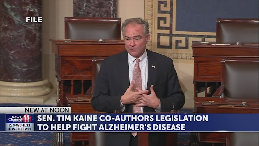 Legislation co-authored by Sen. Tim Kaine geared to combat Alzheimer's signed into law