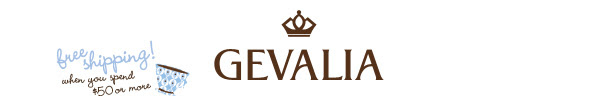Gevalia - free shipping when you spend $50 or more.