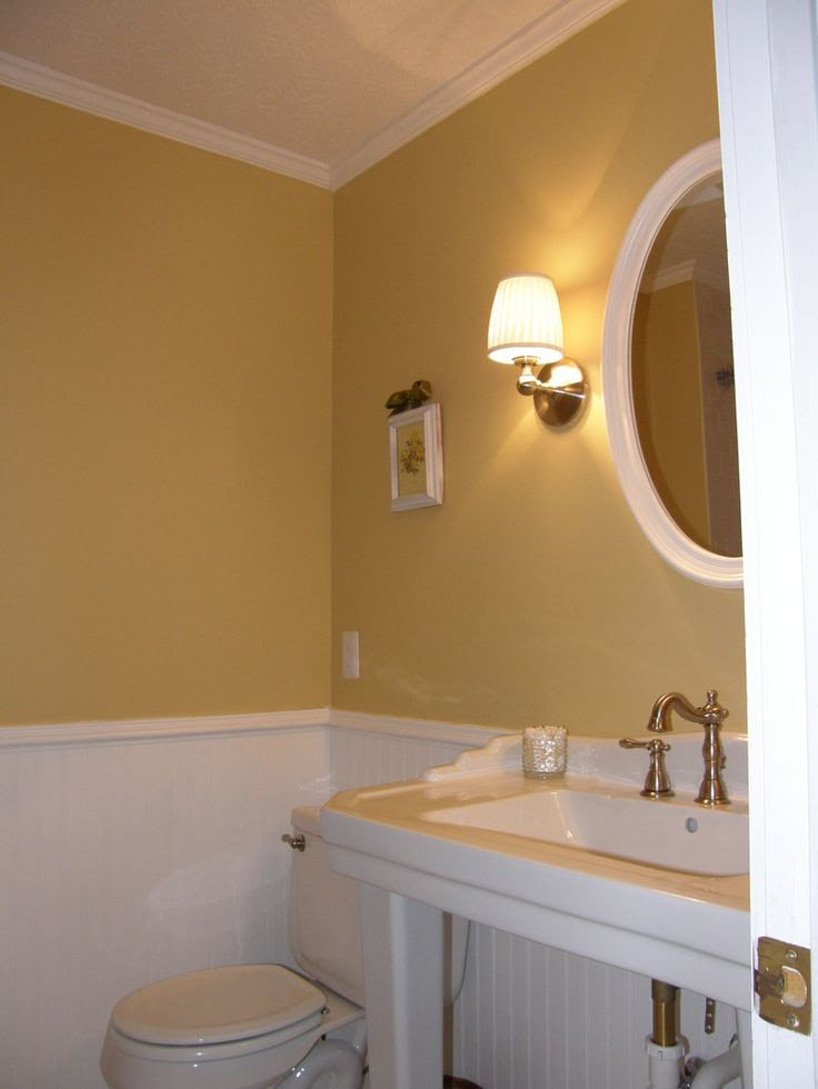 Golden wheat color for our guest bedroom