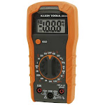 Klein Tools Mm300 Manual-ranging Digital Multimeter W/ Leads and Batteries, 600v