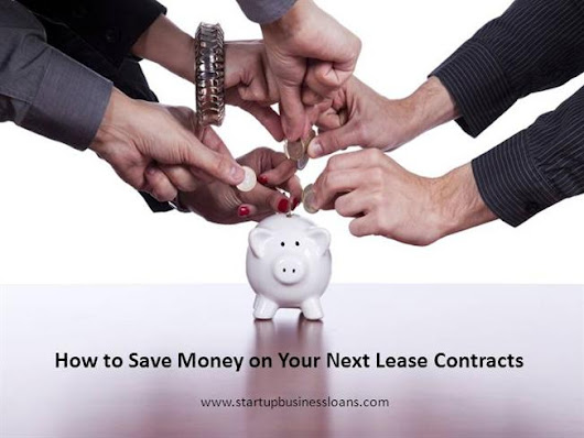 How to Save Money on Your Next Lease Contracts Ppt Presentation