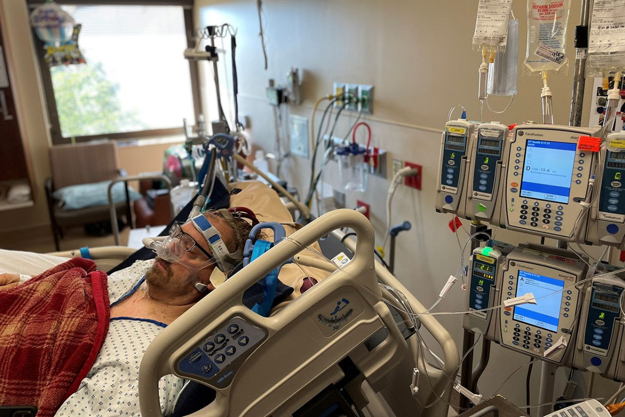 Hospital ICUs filled with COVID-19, fear and regret