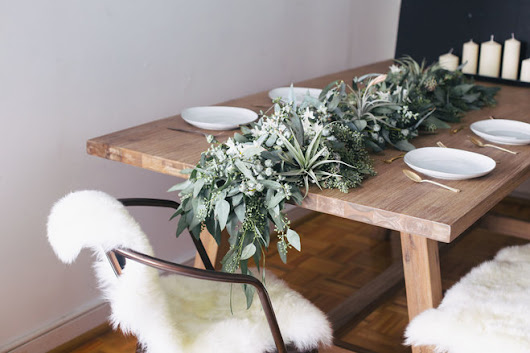 Kick off the New Year with a Fresh Eucalyptus Centerpiece