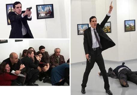 Risultati immagini per attentato ankara all'ambasciatore