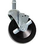 "StoreIt SI-SC-5-BRK 5"" Swivel Caster w/ Brake for Shelving Units"