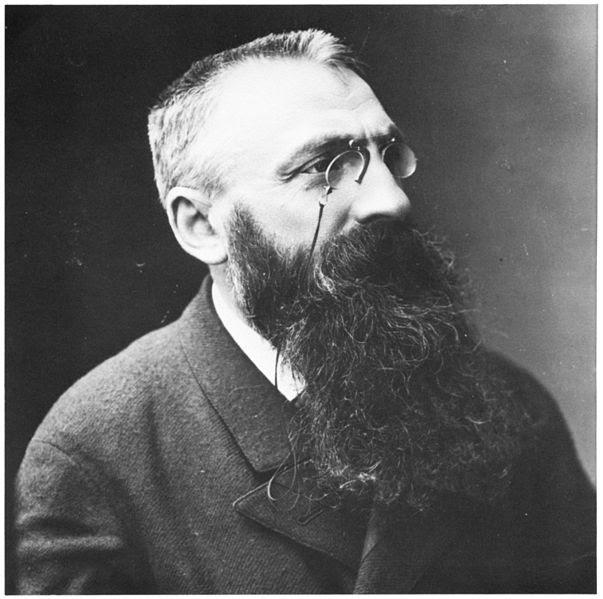 Auguste Rodin Portraits de gens célèbres par Felix Nadar