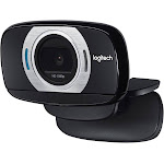 Logitech C615 HD Webcam with Microphone - Black/Silver