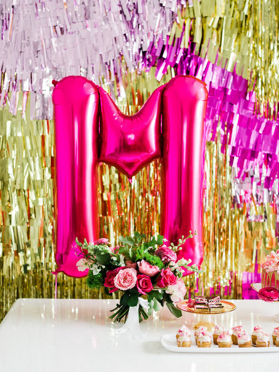 Hot Pink And Gold Party Ideas Wedding Party Ideas 100 Layer Cake