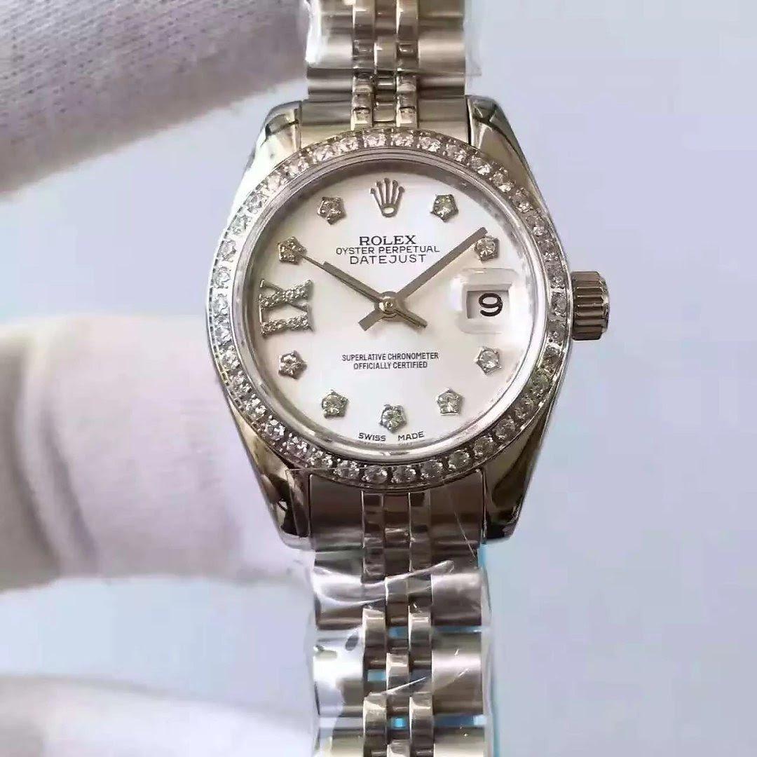 33mm Rolex Datejust MOP Dial