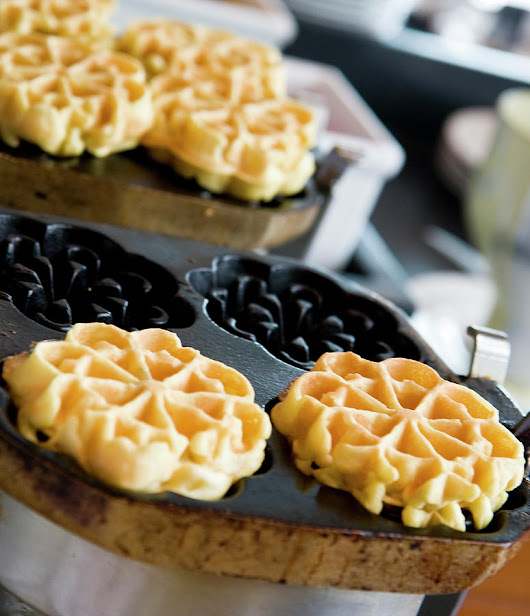 Belgian Waffles by Darryl Brooks