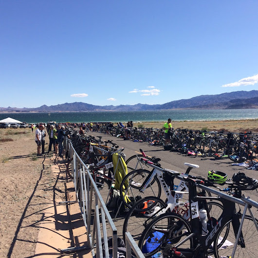 "Brandon on Twitter: ""Red flag day at #LakeMead for the #RageTriathlon today. Thanks @BBSCTri for another great race. """