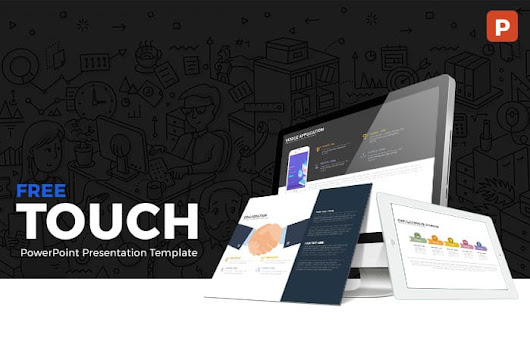 Touch Free PowerPoint Presentation Template | SlideCompass