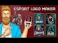 Logo Esport Maker مصمم لإنشاء شعارات مجانية للجوال بطريقة بسيطة