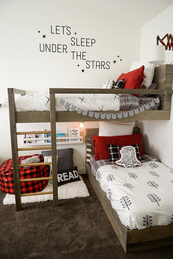 Room Makeover Lumberjack Style - Design Dazzle