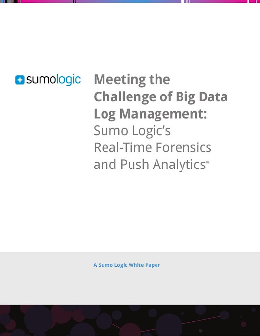 Meeting the Challenge of Big Data Log Management