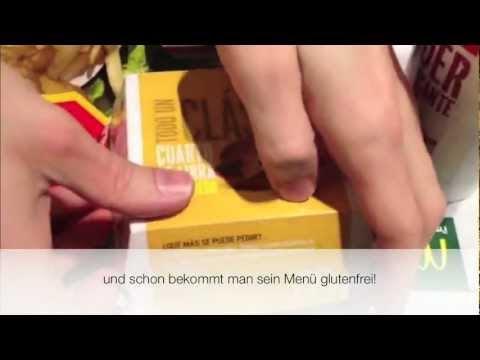 glutenfreie Burger bei McDonald's