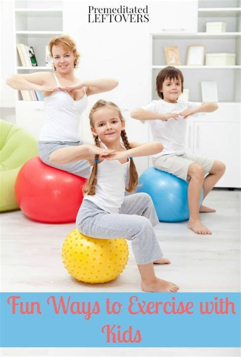 fun ways  exercise  kids