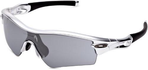 66b293b83e Wangbadan  Oakley Men s Radar Path Metallic Iridium Asian Fit Sunglasses