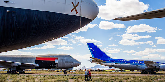 Hunting for Treasures in a Massive Aircraft Boneyard | Autopia | WIRED