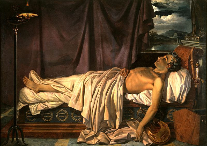 File:Lord Byron on his Death-bed c. 1826.jpg