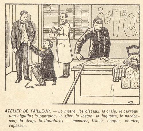 atelier de tailleur