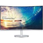 "Samsung C27F591FDN - 27"" Curved LED Monitor - FullHD - Silver"