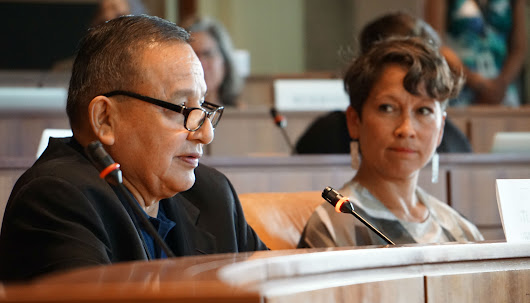 First Nations don't trust federal pipeline consultation, says Grand Chief. Only three speakers show up.