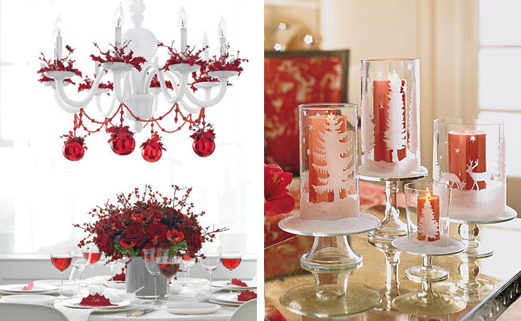 Check out also these Christmas table settingsAren't they