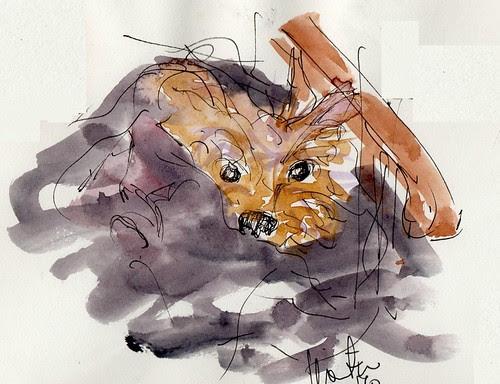 little dog by dibujandoarte