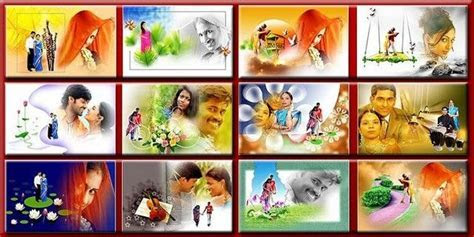 Indian Wedding Album Design Psd Rar   photoshop