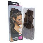 Wave Wrap Around Pony - R830 Ginger Brown by Hairdo for Women - 23 Inch Hair Extension