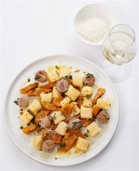 gnocchi mit kuerbis und salsiccia rezept