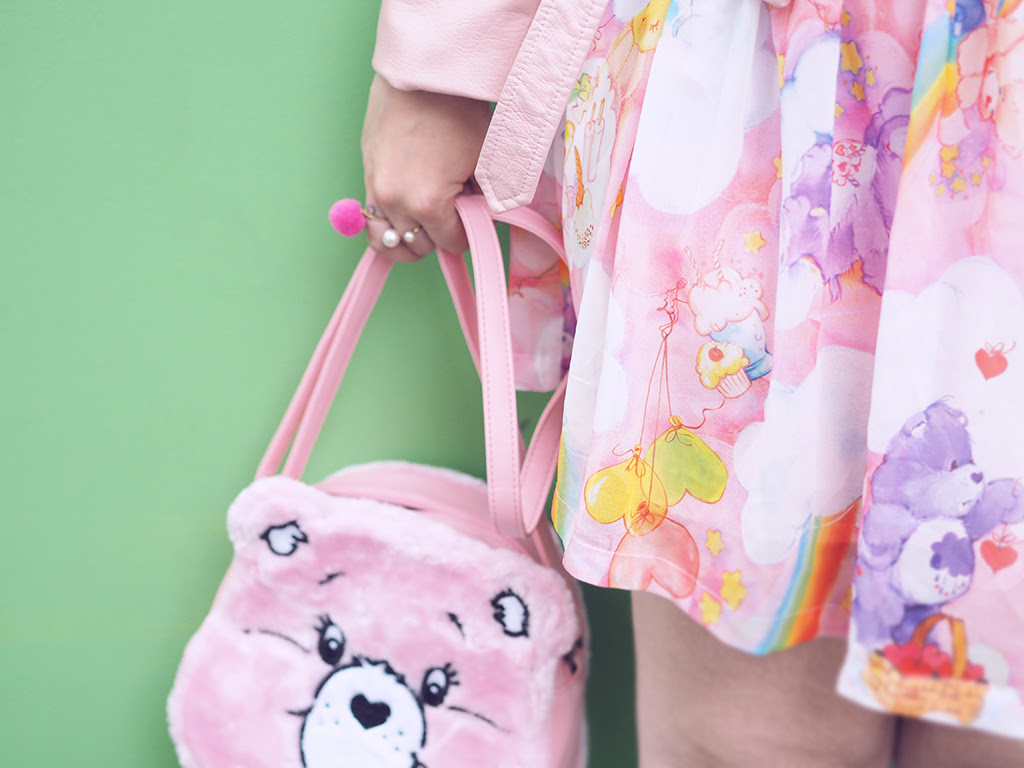 Iron Fist Care Bear Dress Bag