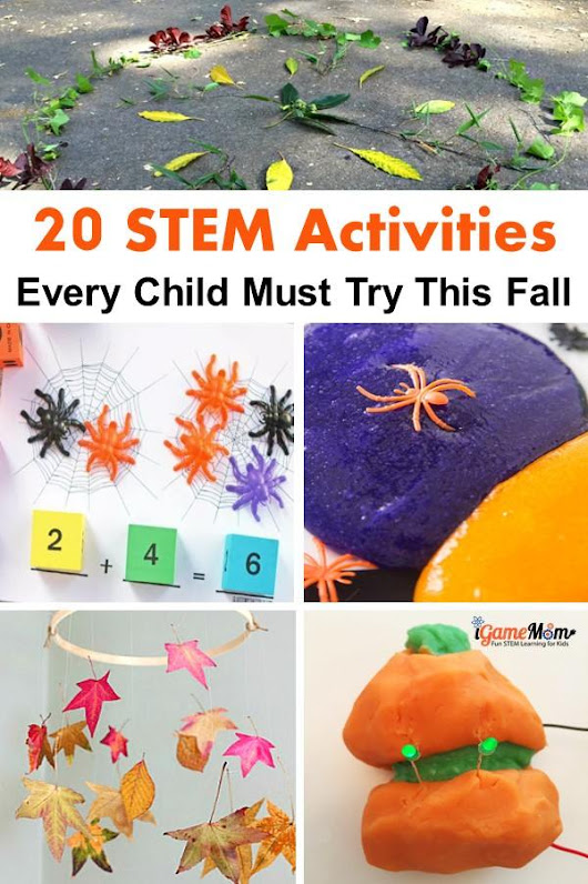 20 STEM Activities Every Child Must Try