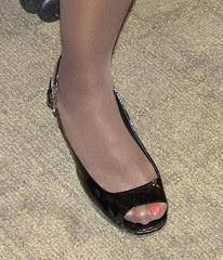 Terri Sewell's non-designer shoe