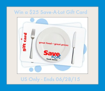 Enter the $25 Save-A-Lot Grocers Giveaway. Ends 6/28