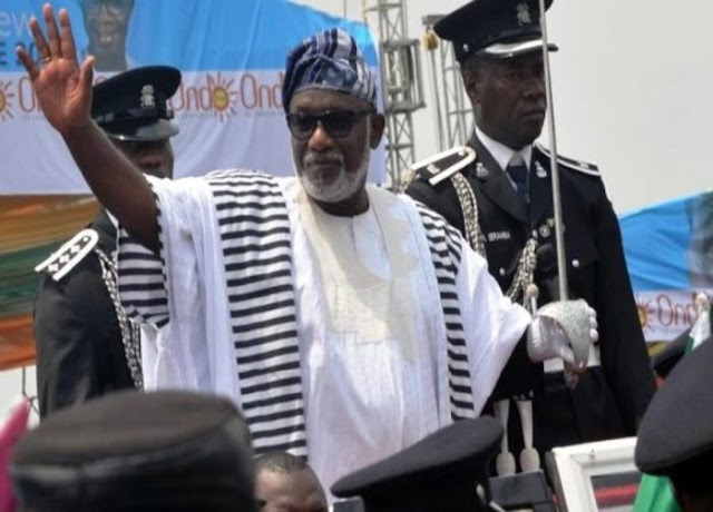 BREAKING!!! Akeredolu Sworn In As The Governor Of Ondo State For Second Term