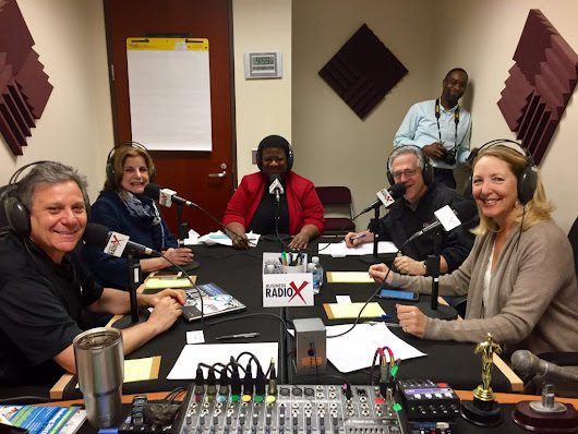 Toby Bloomberg with Diva Foodies, Theresa Lina Stevens with Lina Group, Inc. and Terri Denison with U.S. Small Business Administration - Atlanta Business Radio